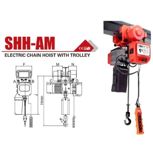 polipastos electricos de cadena tbm