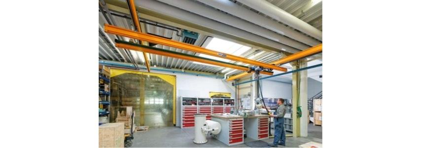 sistema ligero puente grua birrail zhb