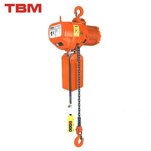 Polipastos Eléctricos de Cadena TBM SHK- A